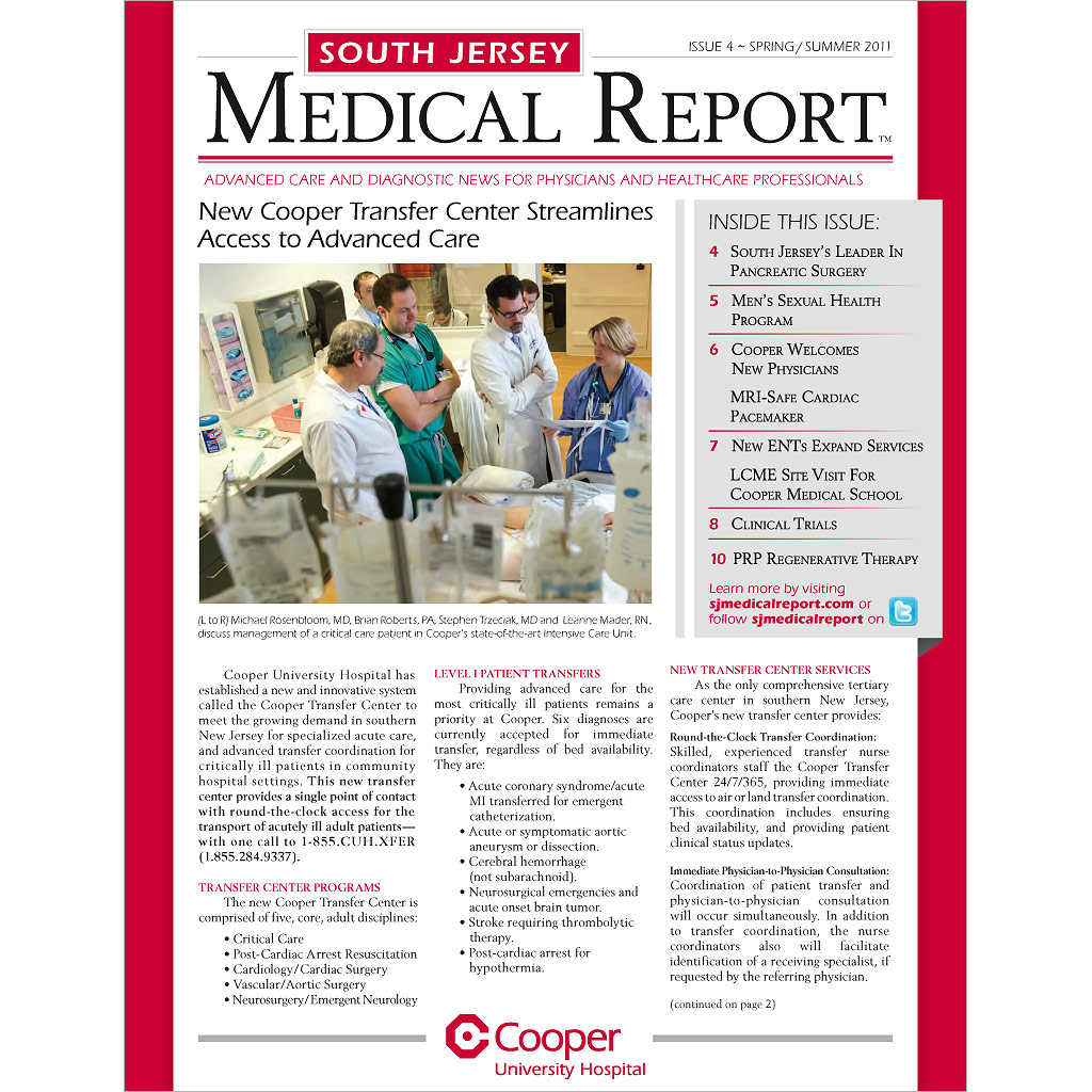 Cooper-South-Jersey-Medical-Report-Cover